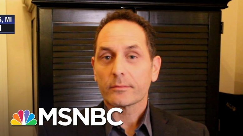 ER Doctor Says Unemployment, Coronavirus Threat Is A 'Double Whammy' | The Last Word | MSNBC 1