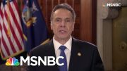 Governor Cuomo: 'No State Is Equipped To Handle This Situation'   Rachel Maddow   MSNBC 3