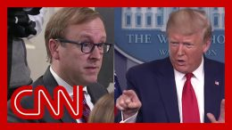 Trump berates reporters when asked about report by his official 4