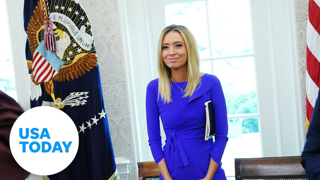 White House press secretary Kayleigh McEnany holds first briefing   USA TODAY 4