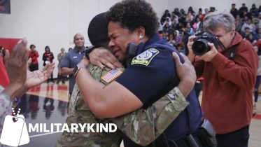 Entire school is in on homecoming surprise for Army mom | Militarykind 6