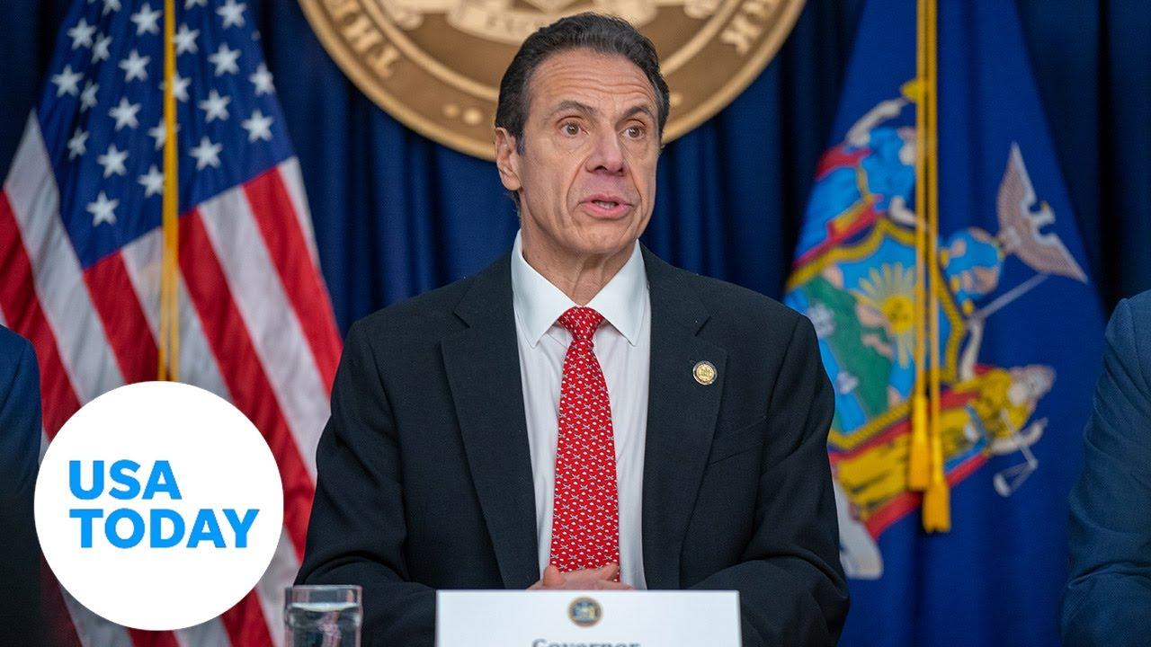 New York Gov. Andrew Cuomo holds coronavirus briefing Friday   USA TODAY 1