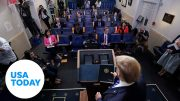 White House addresses coronavirus cases among West Wing staff | USA TODAY 5