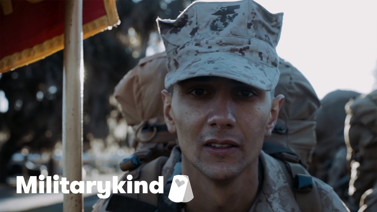 Father and son become Marine brothers | Militarykind 1