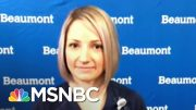 Nurse Says It's 'Heartbreaking' To Be Coronavirus Patients' 'Everything' | Stephanie Ruhle | MSNBC 5