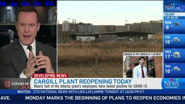 Cargill, Alberta not listening to workers: Union 6