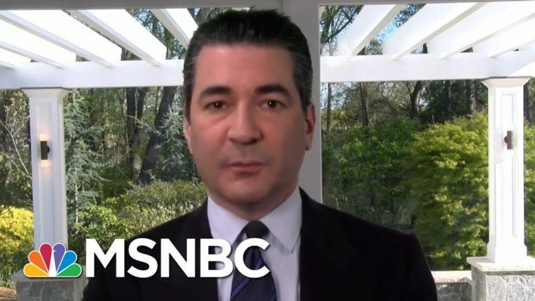 Dr. Gottlieb On Why He's Hopeful, Why This Isn't A Uniform Epidemic   Morning Joe   MSNBC 1