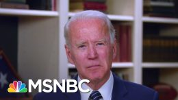 Biden To The Mourning Loved Ones: 'You'll Get Through This Veil Of Darkness' | The Last Word | MSNBC 6