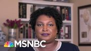 Stacey Abrams On Fighting Voter Suppression And Election Interference | The Last Word | MSNBC 4