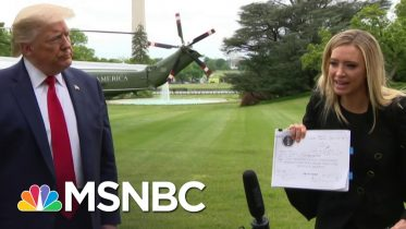 Trump White House Now Claims It Had A Pandemic Plan All Along | The 11th Hour | MSNBC 6