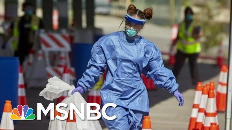 Trump Says That Virus Testing May Be 'Overrated' | Morning Joe | MSNBC 1