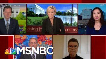 Trump Puts U.S. In Worst Disaster In Modern History, Says Professor | Morning Joe | MSNBC 6