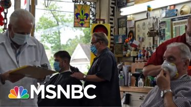 Dallas County Judge: Sustainable Recovery Means 'Not Opening Too Soon' | The Last Word | MSNBC 6