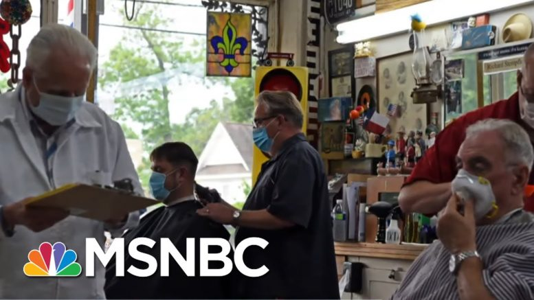 Dallas County Judge: Sustainable Recovery Means 'Not Opening Too Soon' | The Last Word | MSNBC 1