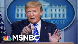 Trump's Censorship Of CDC Guidelines 'Puts The American Public At An Extreme Disadvantage'   MSNBC 1