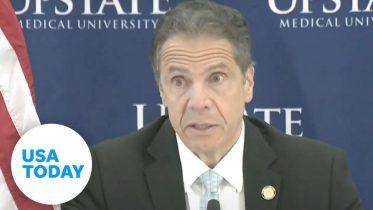New York Gov. Andrew Cuomo holds coronavirus briefing   USA TODAY 6