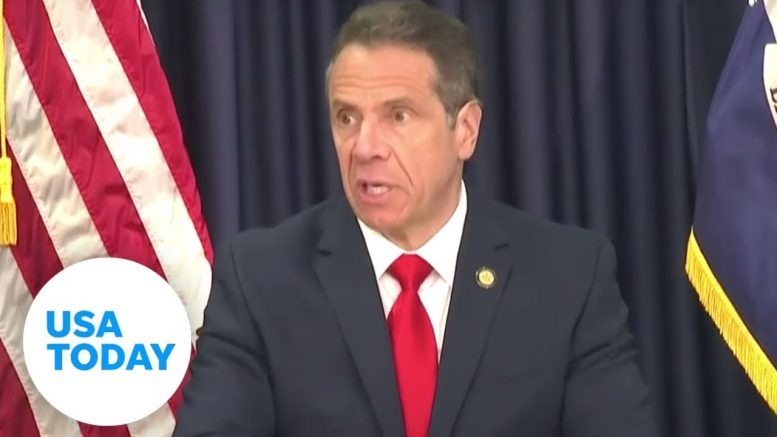 Gov. Andrew Cuomo on reopening NYC amid pandemic | USA TODAY 1