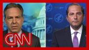 Jake Tapper to Alex Azar: Why was the US hit harder by coronavirus? 2