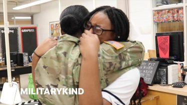 The surprises don't stop in this military homecoming | Militarykind 6