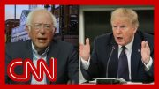 Bernie Sanders says Trump is trying to deflect from these two things 5