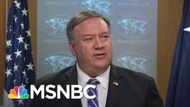 Fired Watchdog Was Investigating Pompeo Decision To Approve Arms Sales To Saudi Arabia | MSNBC 10
