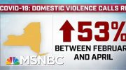 Domestic Violence Calls Surge During The COVID-19 Pandemic | MTP Daily | MSNBC 4
