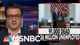 Chris Hayes: GA, TX, FL Are Taking Very High-Level Risk With Very Uncertain Future | All In | MSNBC 5