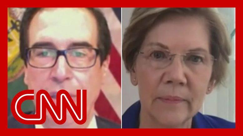 Warren presses Mnuchin on penalties for not protecting jobs 1