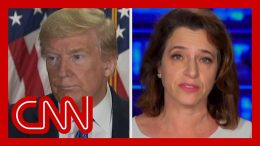 CNN reporter on Trump claim: Where did he get that from? 8