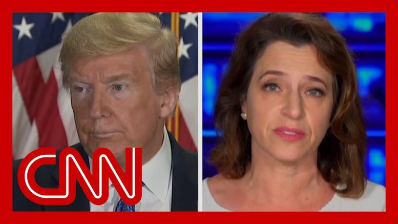CNN reporter on Trump claim: Where did he get that from? 1