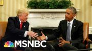 Trump Ramps Up Attacks On Obama Amid Pandemic And Re-Election | The 11th Hour | MSNBC 2