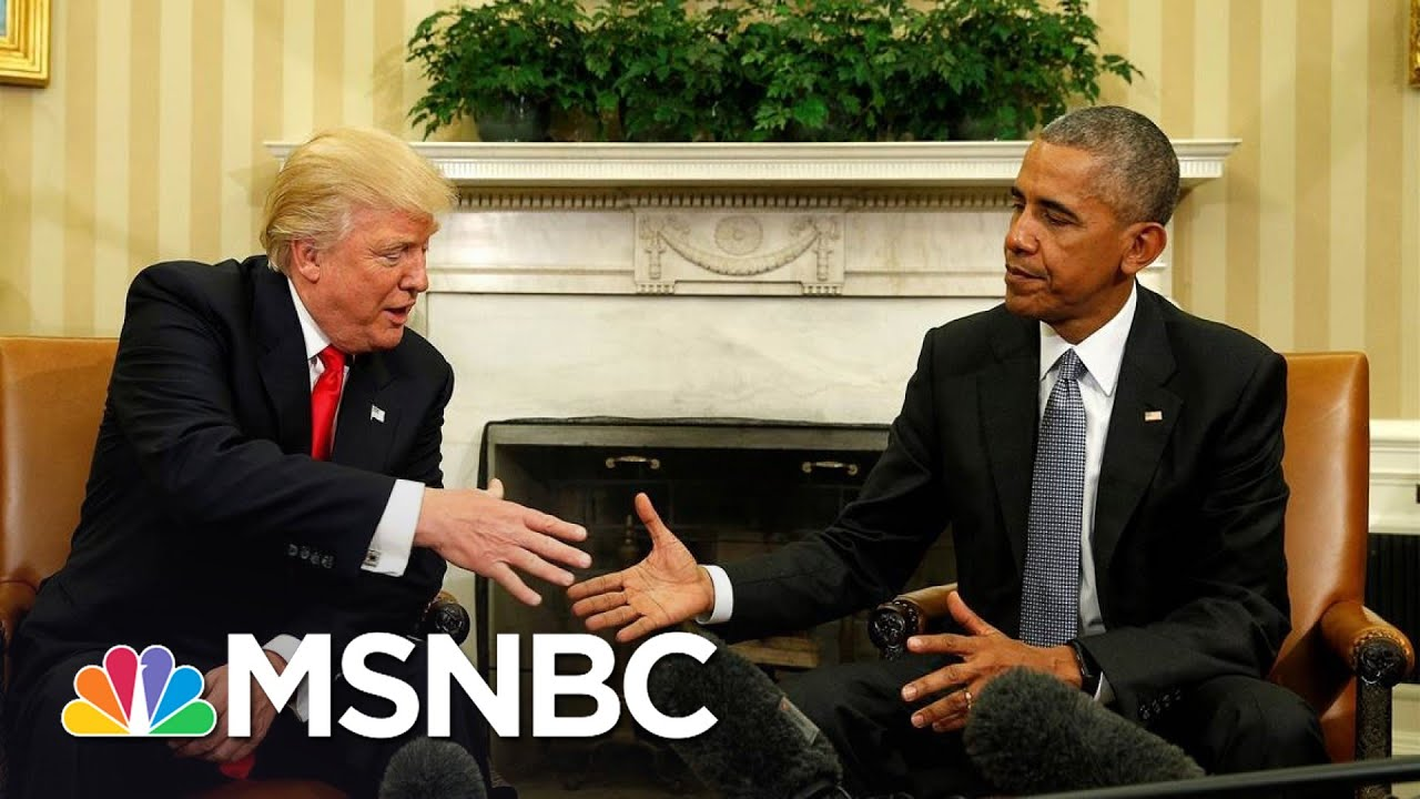 Trump Ramps Up Attacks On Obama Amid Pandemic And Re-Election | The 11th Hour | MSNBC 7