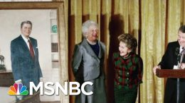 Why Traditional WH Portrait Unveiling May Cease For Now | Morning Joe | MSNBC 2