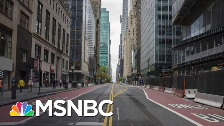 Gov. Cuomo: We Look At The Metrics, Not Politics When deciding to Reopen | Stephanie Ruhle | MSNBC 1