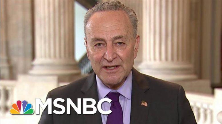 Sen. Chuck Schumer: New York City Will Overcome This   Morning Joe   MSNBC 1