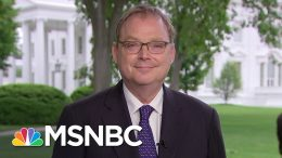 Kevin Hassett: We're Watching & Planning Possible Next Steps For Relief | Andrea Mitchell | MSNBC 9