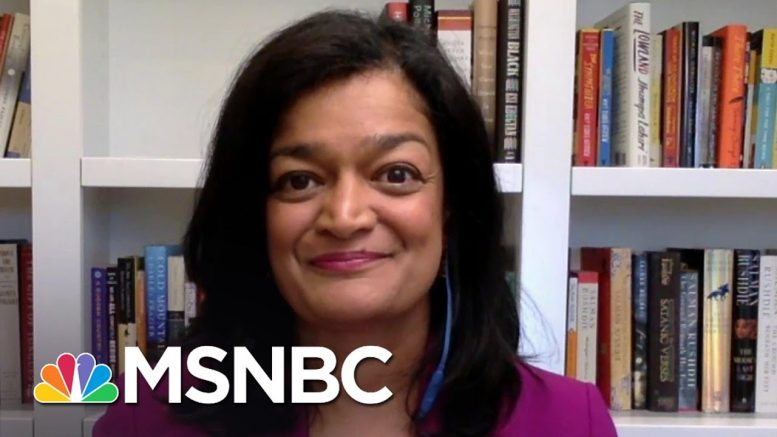 Rep. Jayapal: 'What We're Talking About Is Stopping Mass Unemployment' | The Last Word | MSNBC 1