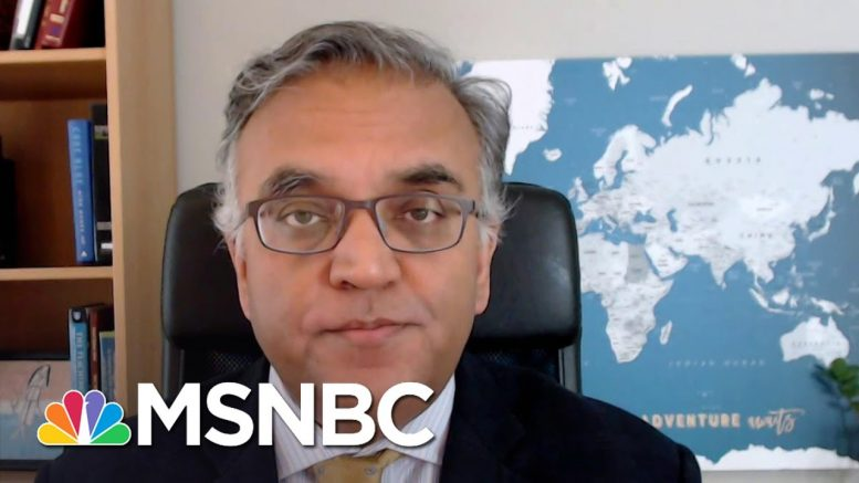 Dr. Jha: 'Incredibly Unwise' To Withhold Money From The World Health Org. | The Last Word | MSNBC 1