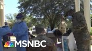 Trump Cuts National Guard Deployment A Day Short Of Benefits Accrual | Rachel Maddow | MSNBC 2