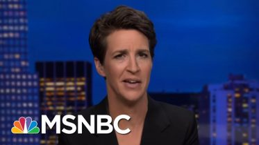 Trump Embarrasses Americans Again With Sloppy, Emotional Outburst | Rachel Maddow | MSNBC 9