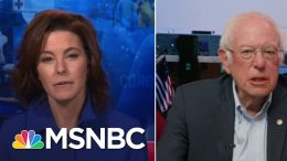 Sen. Sanders: 'How Great Is An Economy Where People Go Into Desperation?' | Stephanie Ruhle | MSNBC 7