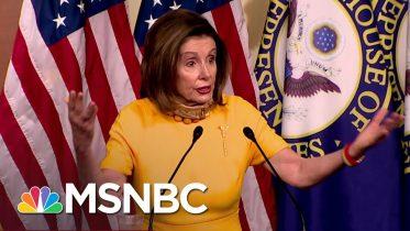 Nancy Pelosi Gives Trump A 'Dose Of His Own Medicine' | Deadline | MSNBC 6