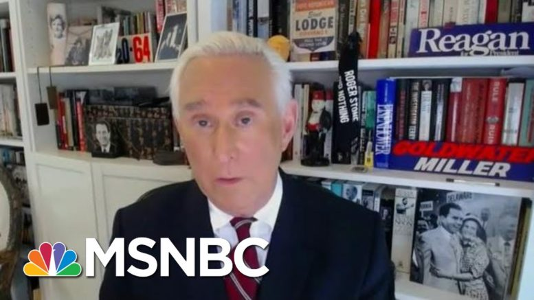 'Chutzpah': Trump's Convicted Adviser Roger Stone Re-Emerges Before Reporting To Prison | MSNBC 1