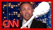 Chris Cuomo teases brother Andrew with giant test swab 2