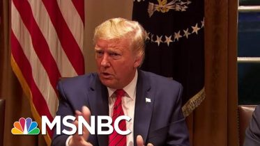 'Liar': Trump Fact-Checked For Dangerous Coronavirus Claims | The Beat With Ari Melber | MSNBC 6