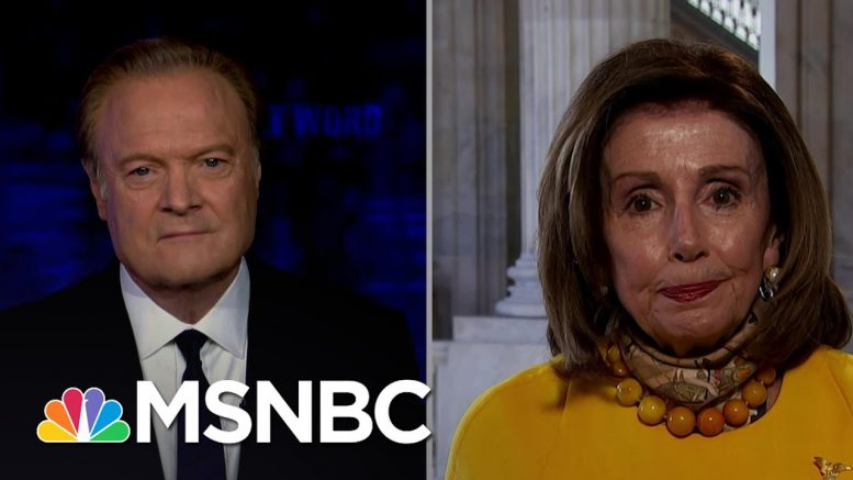 Pelosi: Voting By Mail Is Now A 'Health Issue' For November Elections | The Last Word | MSNBC 1