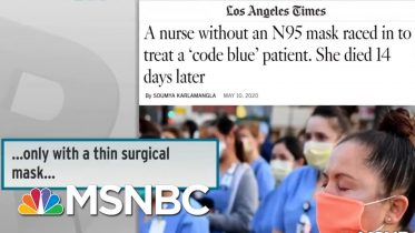 Adequate PPE Still A Problem For American Health Care Workers | Rachel Maddow | MSNBC 6