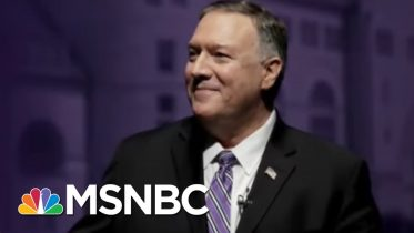 'Things Are Looking Swampier And Swampier': Pompeo Under Fire Amidst Growing Scandals | MSNBC 6