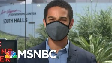 Medical Officials Set To Test 4,000 Las Vegas Casino Workers Per Day | MSNBC 6
