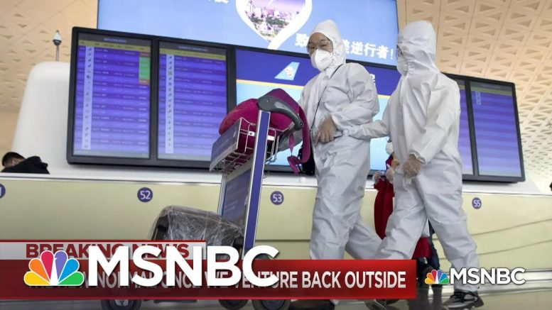 Experts Say There Cannot Be A Reopening Of The U.S. Economy Without Mass Testing | MSNBC 1